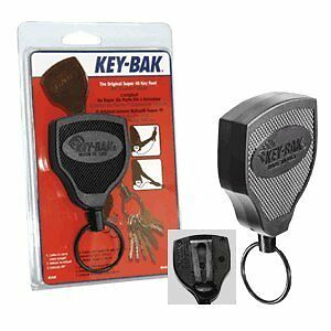 KEY-BAK #SUPER 48 (S48K) Locking Retractable Reel, 48 inch (122 cm) Kevlar Co...