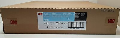 "New 3M 3050 Sky Blue High Performance Burnish Pads 24""  CASE OF 5"