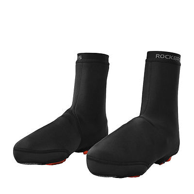 RockBros Bike Bicycle Shoe Covers Warm Cover Windproof Protector Overshoes