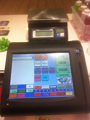RED RIVER complete POS system for froyo store