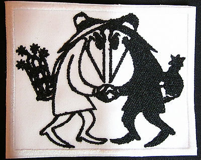 Spy vs Spy Patch Comic Style Iron/Sew on Patch Spy vs spy crows