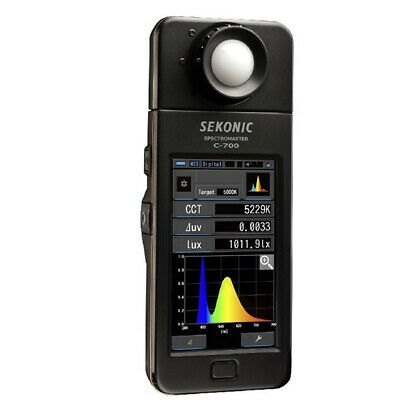 New In Box Sekonic C-700 SpectroMaster Exposure Meter Light and Color Meter