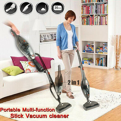 Strong Suction Stick Handheld Bagless Vacuum Cleaner Rechargeable Cordless Brush