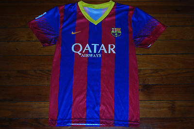 """Blue/Red #10 Lionel """"Leo"""" Messi FC Barcelona Jersey Shirt (Youth Medium)"""