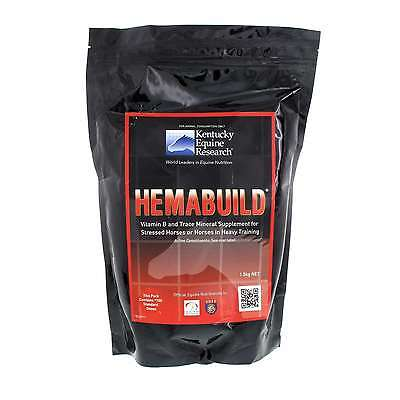 Hemabuild Vitamin B and Trace Mineral Supplement Horse Equine 1.5kg Supplement
