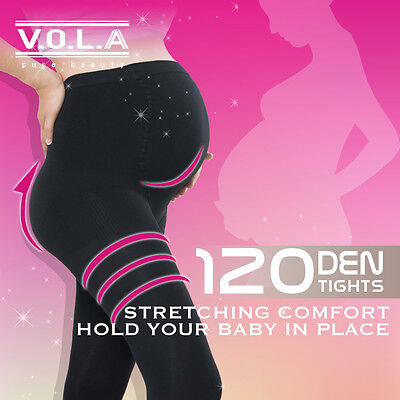 V.O.L.A Pure Beauty Extreme Elastic Soft Maternity Tights S7305 [Made in Taiwan]