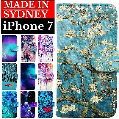 Magnetic Detachable Leather Wallet Case Cover for Apple iPhone 7 iPhone 7 Plus