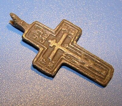 Ancient BRONZE  Crosses Middle Ages Оriginal