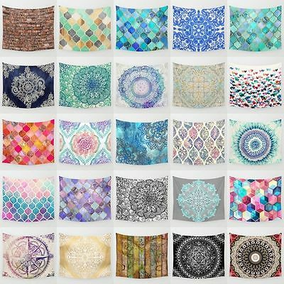 Mandala Hanging Polyester  Beach towel Wall Tapestry Bedspread wall Home Decor