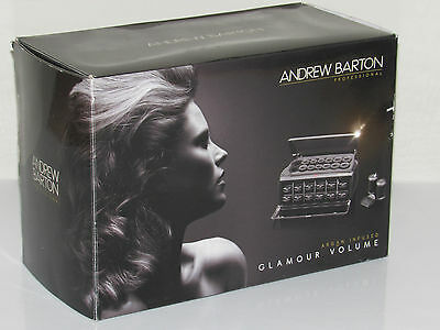 ANDREW BARTON Thermo Ceramic  Hair Styling Curlers Rollers Set 3134ABU