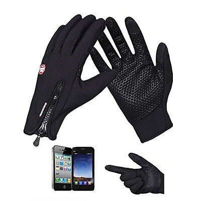 Touch Screen Windproof Waterproof Outdoor Sport Gloves Men Women Winter Fashion