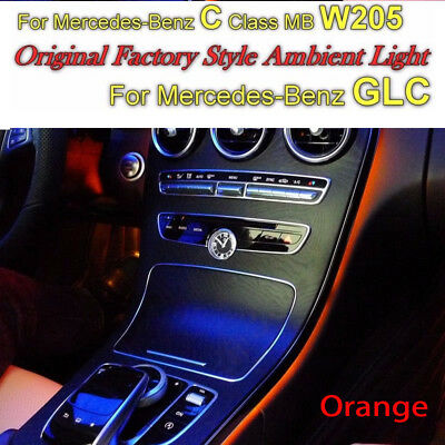 For Mercedes Benz C / GLC MB W205 Original Factory Styl Ambient Atmospher Light