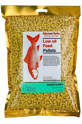 Sweetcorn pellets for carp and coarse fishing 5mm
