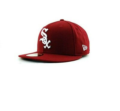 Chicago White Sox 59FIFTY League Basic Mens MLB Cap By New Era Size 7