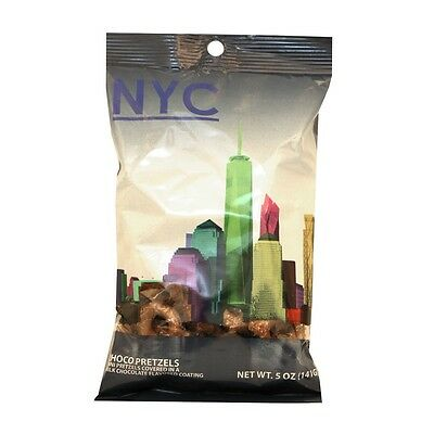 NYC Chocolate Covered Pretzels