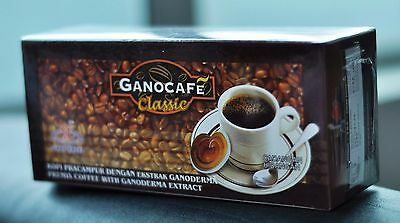 16 Boxes Coffee Gano Ganocafe Ganoderma Classic Free Expedite Shipping (USA)