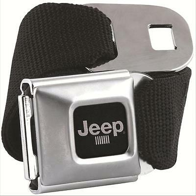 Genuine JEEP Logo Seatbelt Seat Belt with Buckle Buckle-Down Wrangler Limited