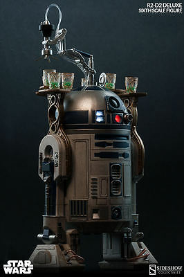 Sideshow Star Wars Exclusive Deluxe R2-D2 New Sealed