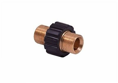 Pressure Washer  M22M x M22M Hose Joining Connection Adaptor Karcher Compatible