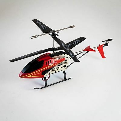 Gyro Flyer V4 3-channel tri-band RC Remote Controlled Helicopter - Red