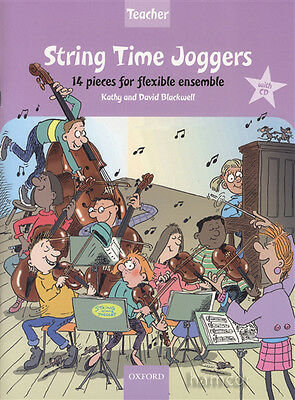 String Time Joggers Teacher's Pack Music Book/CD