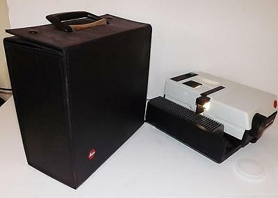 LEICA P150 Pradovit German Slide Projector + Case + Tray P 150 Spares or Repair