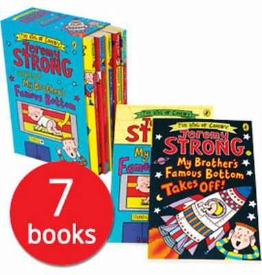 Jeremy Strong: My Brother's Famous Bottom Collection - 7 Books