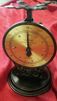 SALTER Family Scale #46 Made in ENGLAND Collectible Scale