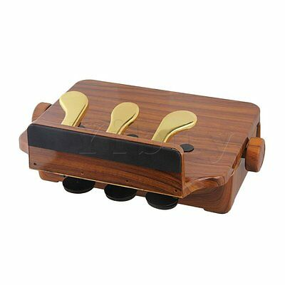 Brown 3 Pedal Adjustable Piano Pedal Extender Assistant Lift for Kids
