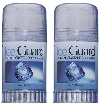 Optima Ice Guard Natural Crystal Deodorant Twist-up Stick 120gms (PACK OF 2)