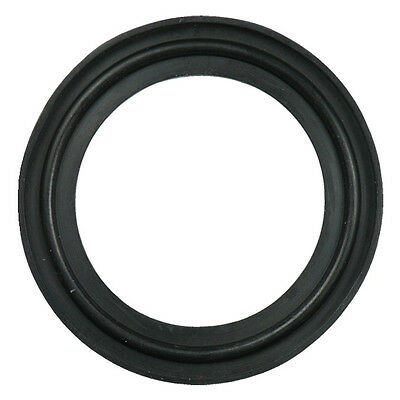 "EPDM Sanitary Tri-Clamp Gasket, Black - 12"" (Flanged)"