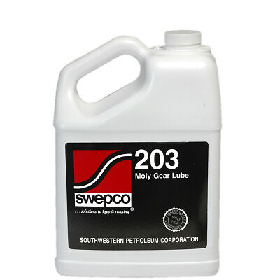 Swepco 203 Moly XP Gear Oil 140 Wt / ISO 460 1 Gallon (New XP Formula)