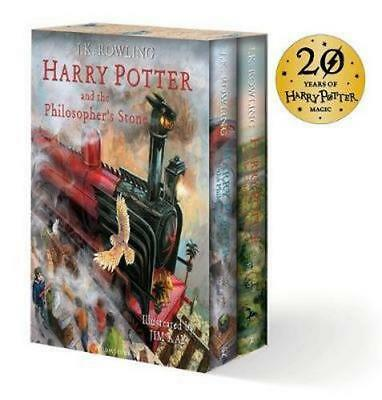 NEW Harry Potter Illustrated Box Set By J.K. Rowling Box or Slipcased
