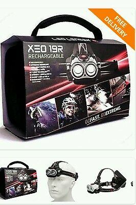 LED lenser XEO19R Rechargeable 5-in-1 LED Lamp White - Clear Cube, + Accessories