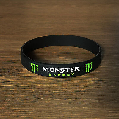 Monster Energy Drink Rubber Silicon Bracelet Wristband