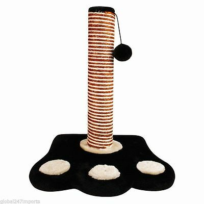 Cat kitten Scratch Scratching Post Pole Scratchers Play Posts (Paw)