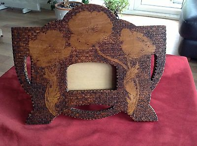 Stunning  Antique/Arts & Crafts Wooden Picture Frame