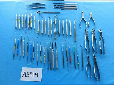 V Mueller Hu-Friedy Nordent Surgical Dental Instruments