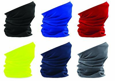 MORF Warm Winter FLEECE Multi Use Snood Neck Warmer Head Hat Balaclava Ski Mask
