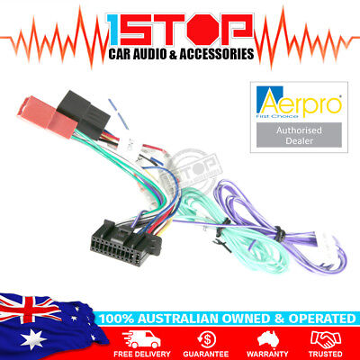 ISO WIRING HARNESS for JVC KW-M730BT KW-V820BT KW-V930BW adaptor cable lead loom