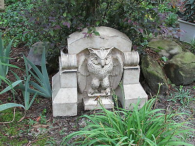 Architectural Terracotta Figural Pediment Owl