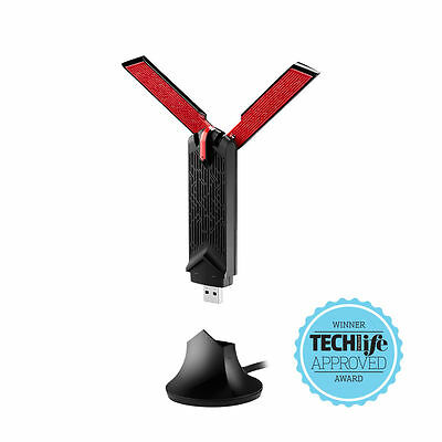 Asus USB-AC68 AC1900 1900Mbps Dual Band USB Wireless WiFi Network Adapter Dongle