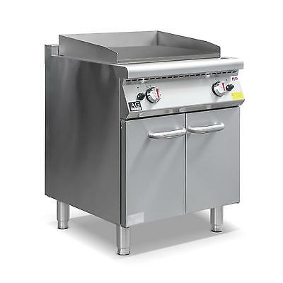 Commercial Natural Gas Double burner Griddle Hot Plate with Cabinet