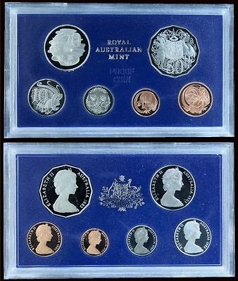 1983 Australia 6 Coin Proof Set With Foams and Certificate