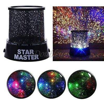 LED Starry Night Sky Projector Lamp Star light Cosmos for kids