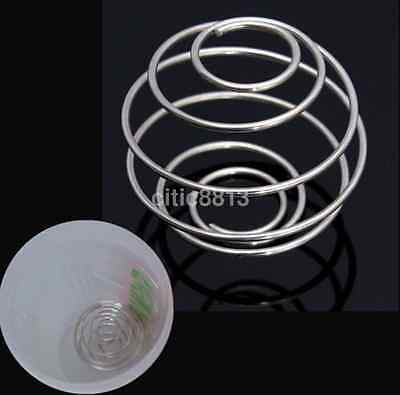 1pc Spring Protein Wire Mixing Mixer Ball For Shaker Drink Bottle Cup AU