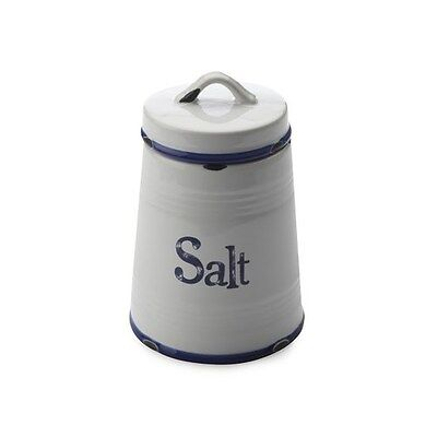 New Casa Domani Rustica Canister Salt Blue 500ml Gift Boxed