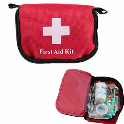 Hiking Survival Travel Mini Hot Emergency First Aid Outdoor Camping Kit Bag New