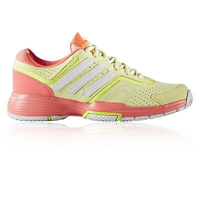 Adidas Barricade Court 2 Womens Yellow Tennis Court Sports Shoes Trainers