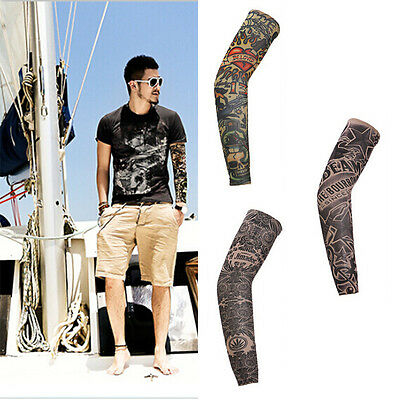 Fashion Cycling Bike Bicycle Arm Warmers Cuff Sleeve Cover Sun Protection WK